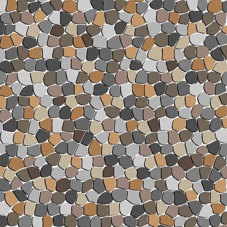 Stone textured wall, vector illustration Stock Vector - 9542396