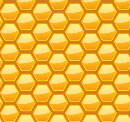 Seamless honeycomb pattern, vector illustration, eps10, 3 layers Stock Vector - 12054220