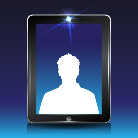 touchpad: Video conversation by cell or tablet computer.