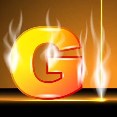 liquid g: Hot alphabet of devil