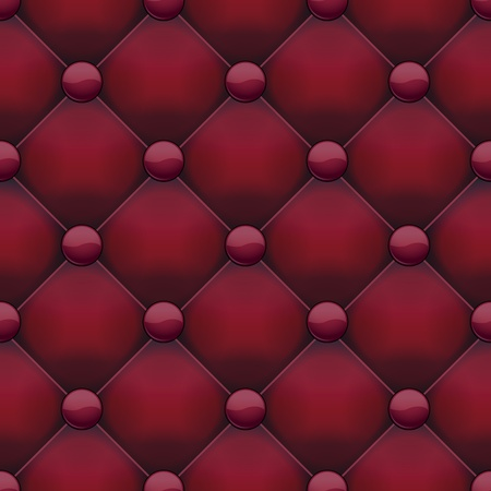 Red leather seamless pattern Vector