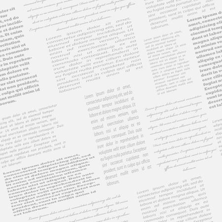 Newspaper seamless background