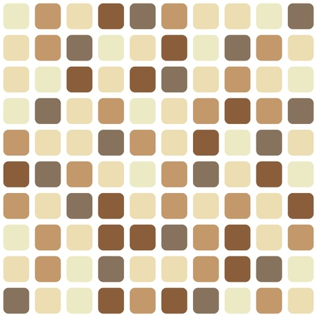 Chocolate mosaic seamless background Stock Vector - 15013446