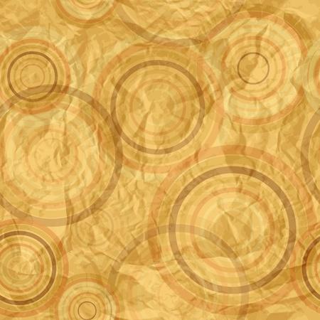 Abstract circle retro pattern Stock Vector - 15390535