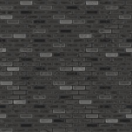 Seamless grunge brick wall Stock Vector - 15687154