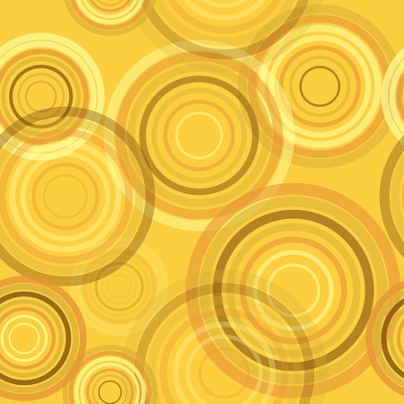 Abstract seamless retro background made of rings Stock Vector - 15687132