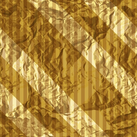 Wrapping golden foil texture, seamless pattern Stock Vector - 15687151