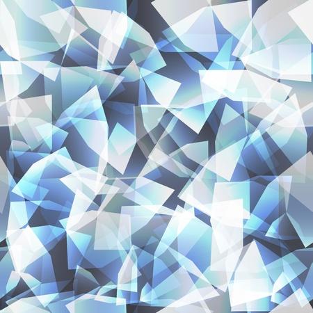 Diamant modèle homogène, illustration vectorielle, eps10 Vecteurs