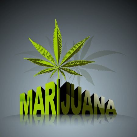 hemp: Marijuana worLd Illustration