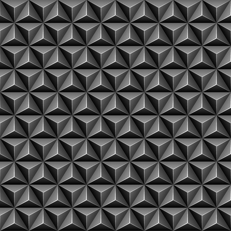 3d triangle: 3d triangle seamless pattern Illustration