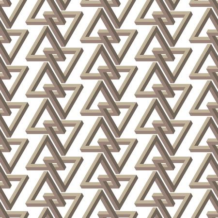 trickery:   triangle seamless pattern