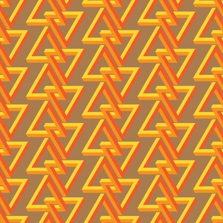 trickery:  triangle seamless pattern Illustration