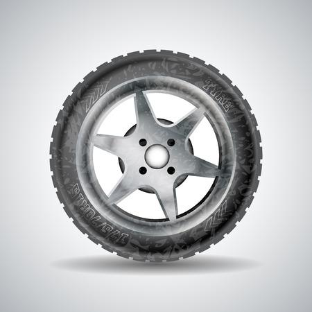 ring road: Dirty wheel