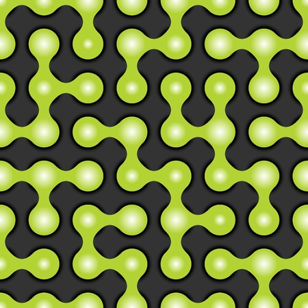 mishmash: Rounded maze seamless pattern, vector illustration for your design, eps10