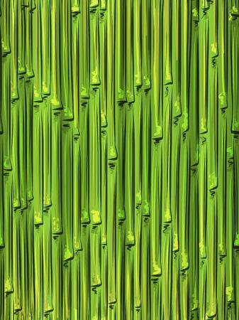 bamboo mat: Bamboo seamless pattern