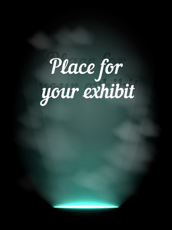 limelight: Presentation light, vector illustration for Your design, eps10 4 layers Illustration