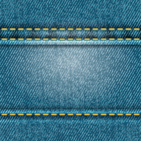denim jeans: Seamless jeans texture Illustration