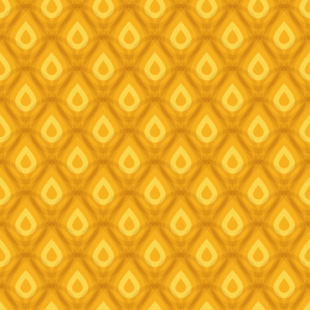 Pineapple texture seamless pattern, vector illustration for Your design