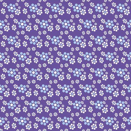 petites fleurs: Abstract flower seamless pattern, vector illustration for Your design, eps10 Illustration