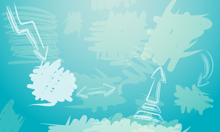 pencil drawing: Abstract doodle background, vector illustration for Your design, eps10