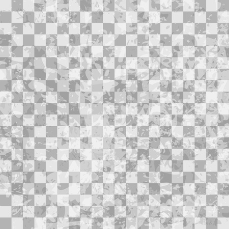 checkerboard backdrop: Grunge checkered seamless pattern, vector illustration for Your design, eps10