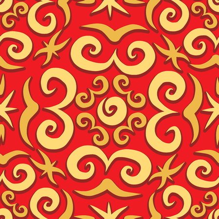 orient: Orient arabesque seamless pattern, vector illustration for your design,
