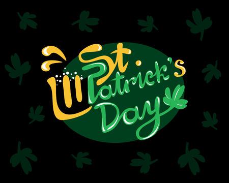 patrics: Saint Patrick day celebration, vector illustration for Your design
