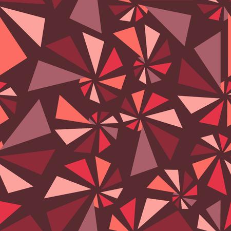 torsion: Triangular torsion seamless pattern, vector illustration for Your design, eps10