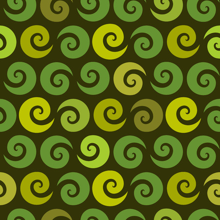 green swirl: Swirl green seamless pattern, vector illustration for Your design, eps10