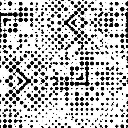 Abstract seamless pattern. Vector illustration pour votre conception, eps10. Peut être utilisé pour des motifs de remplissage, textures papier peint, textiles, surface. Vecteurs
