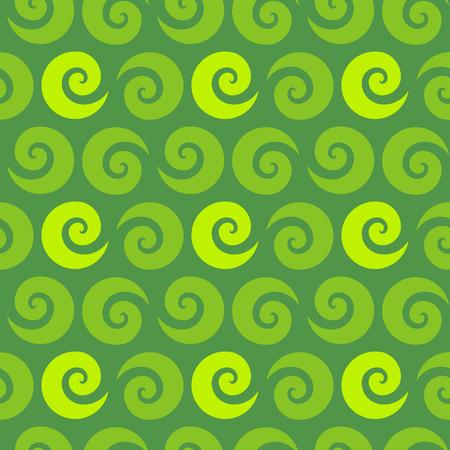 green swirl: Swirl green seamless pattern, vector illustration for Your design, eps10