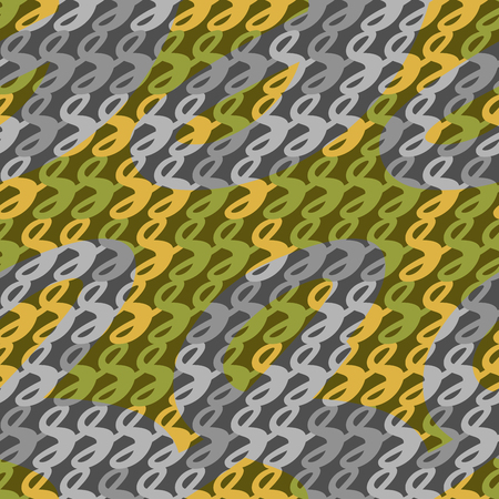 defensive: Camouflage seamless pattern, vector illustration for Your design, eps10