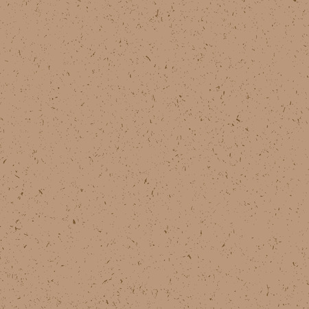 inclusions: Craft paper grunge seamless texture, vector illustration Illustration
