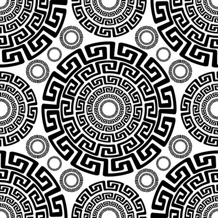抽象的な古代シームレス パターン、ベクトル図、EPS10