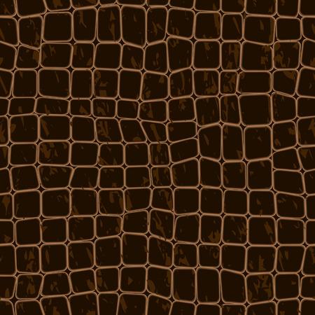 crocodile leather seamless background Stock Vector - 7487015