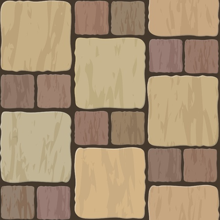 stone floor tile seamless background pattern Vector