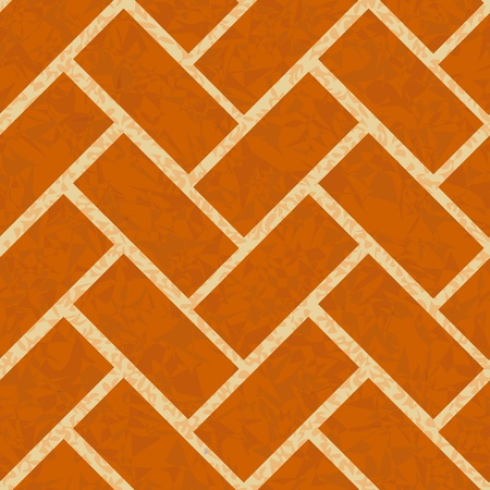 brickwork floor, wall seamless background pattern Stock Vector - 10081675
