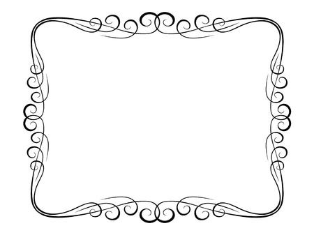 bordure vigne: patron de trame calligraphie calligraphie d�co ornemental