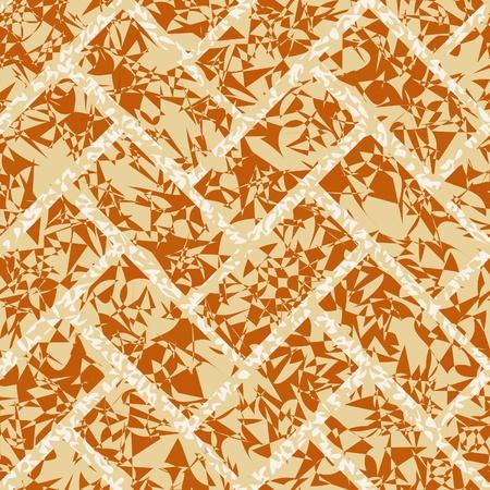 brickwork: seamless vector brickwork floor, wall background pattern