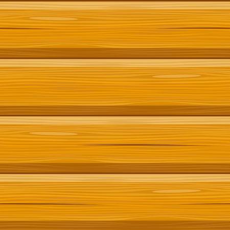 houten blokhut blokhut naadloze achtergrond Vector Illustratie