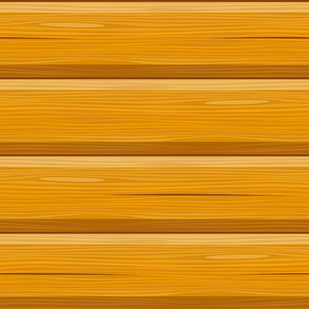wooden beams: wooden blockhouse log cabin seamless background Illustration