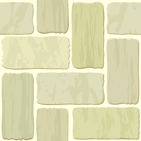 Seamless texture of different colors stonewall tile Stock Vector - 10896348