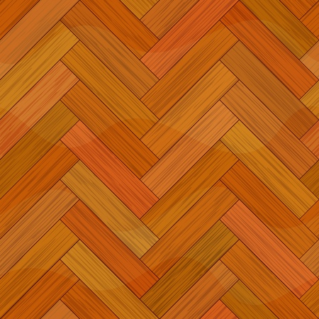cherry wood: wood parquet floor seamless background texture Illustration