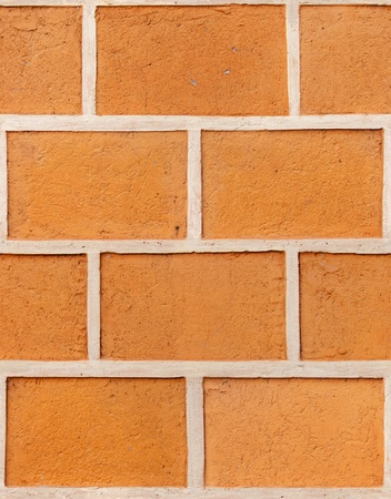 seamless square decorative plaster as a brick texture photo