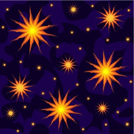 hosszú expozíció: vektor csillagok az éjszakai égbolton zökkenőmentes háttér