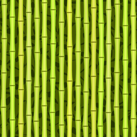 vector green bamboo seamless texture background pattern Vector
