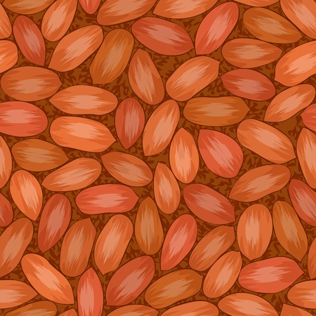 mixed nuts: peanut-red(18).jpg Illustration