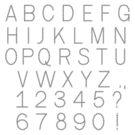 ABC-chain(18).jpg Stock Vector - 11398454