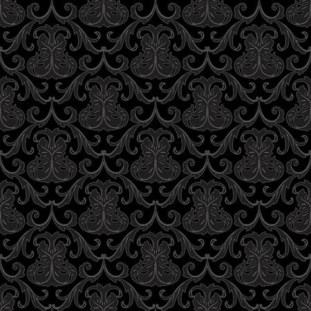transparente noir floral abstrait fond d'écran motif de fond