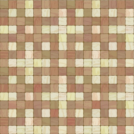 mosaic tiles: Seamless texture of different colors stonewall tile